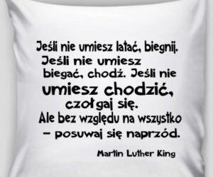 Poszewka na poduszkę Martin Luther King