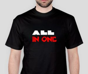 All in one – Koszulka męska