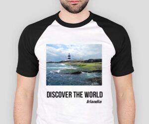Discover the World – Irlandia Koszulka męska