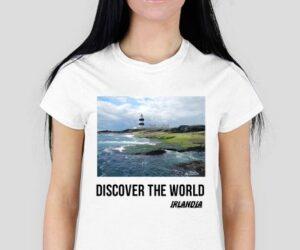Discover the World – Irlandia Koszulka damska
