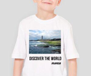 Discover the World – Irlandia Koszulka dla chłopca