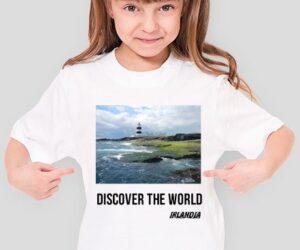 Discover the World – Irlandia Koszulka dla dziewczynki