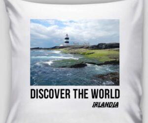 Poszewka na poduszkę Discover the World – Irlandia