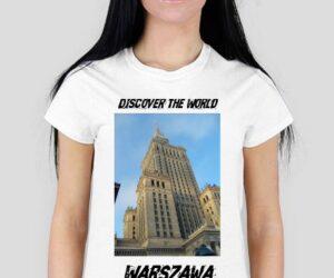 Discover the World – Warszawa Koszulka damska