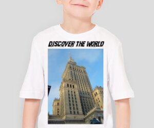 Discover the World – Warszawa Koszulka dla chłopca