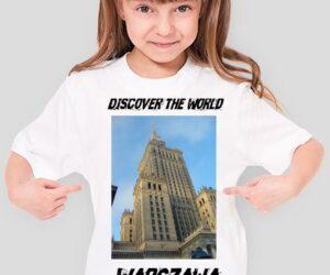 Discover the World – Warszawa Koszulka dla dziewczynki