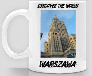 Discover the World – Warszawa Kubek do kawy