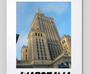 Podkładka pod myszkę: Discover the World – Warszawa