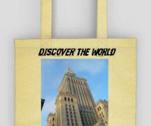 Torba ekologiczna:  Discover the World – Warszawa