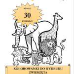 Kolorowanki do wydruku: Zwierzęta