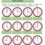Która jest godzina? Zestaw ćwiczeń