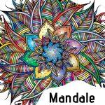Mandale. Relaksacyjne kolorowanki dla dużych i małych